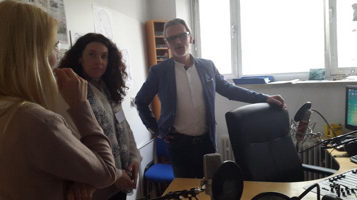 SeGel - Selbstwert ist Geldwert bei Radio SOL; 20.05.2017; im Aufnahmestudio