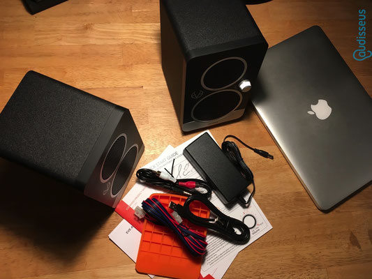 Eve Audio SC203 / Im Praxistest auf www.audisseus.de / Foto: Fritz I. Schwertfeger