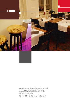Restaurant St. Meinrad, Staufacherstrasse 125, 8004 Zürich