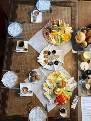 Frühstück zuhause - ein Bild von unseren begeisteren Kunden!