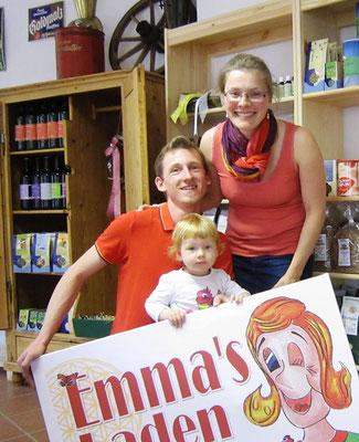 Emmas Laden - Eröffnung 2014 mit der kleinen Emma