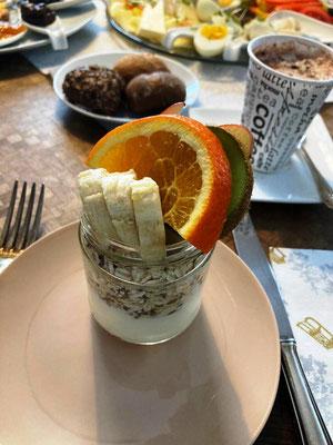 Das Müsli vom Frühstück von Emma daheim genießen!