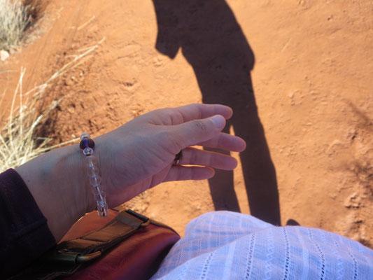 ♡ ミツバチとのホホバハプニング in Sedona