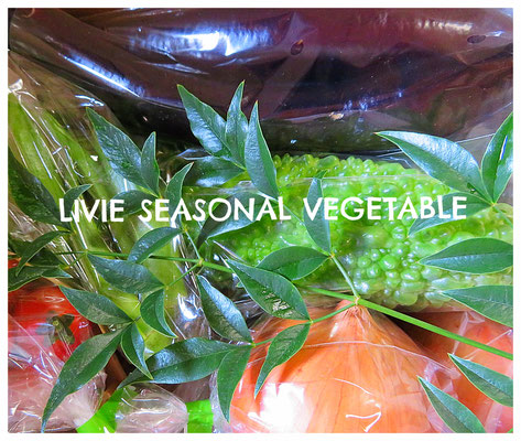 ♡ LIVIE SEASONAL VEGETABLE