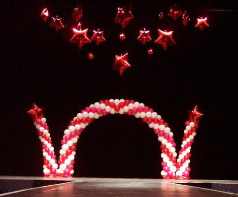 Décoration de ballons Miss Normandie