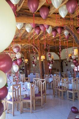 Décoration de ballons  Domaine de Claival à Argueil