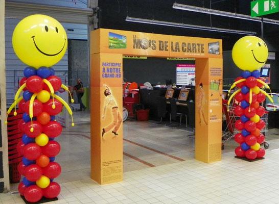 Décoration de ballons Anchan Grand Cap Le Havre