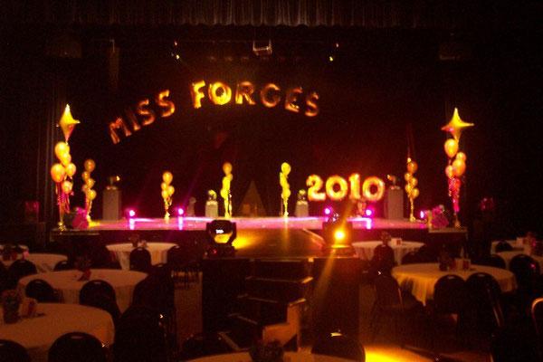 Décoration de ballons Miss Forges