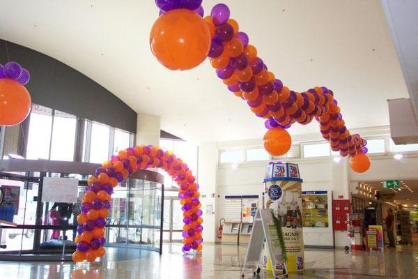 Décoration de ballons SUPER U Igoville