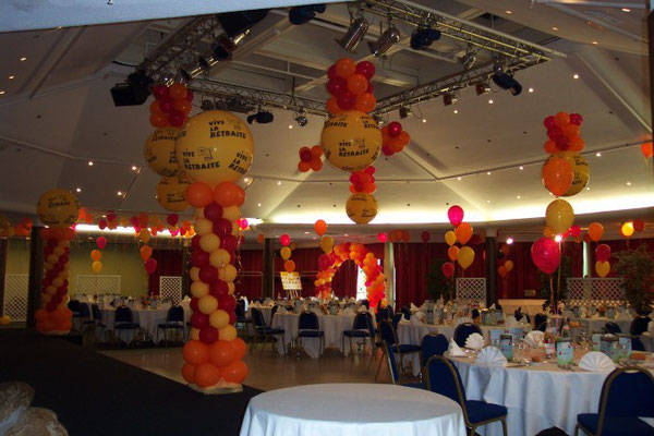 Déco de ballons Center Parc Verneuil sur Avre