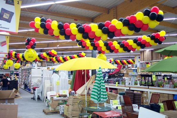 Décoration de ballons Bricomarché