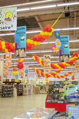 Décoration de ballons thème Printemps