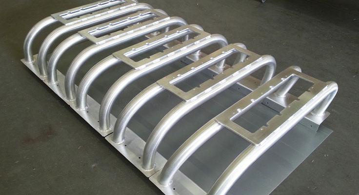 arceaux de pickup en fabrication