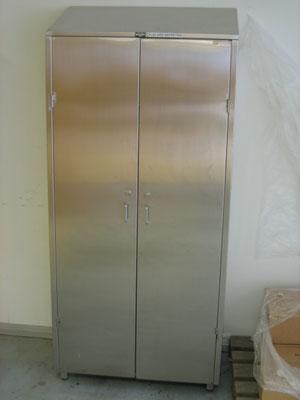 armoire vestiaire inox