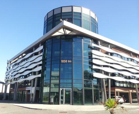 Habillage façade Centre des Impôts