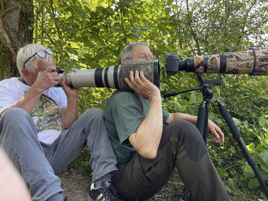 Günter und Peter at Work