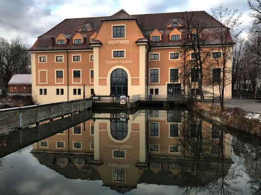 """Die """"kleine"""" Kunstmühle Rosenheim"""