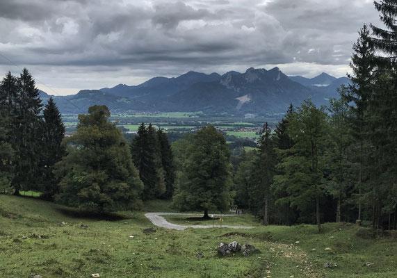 Auf dem Weg zur Breitenberghütte