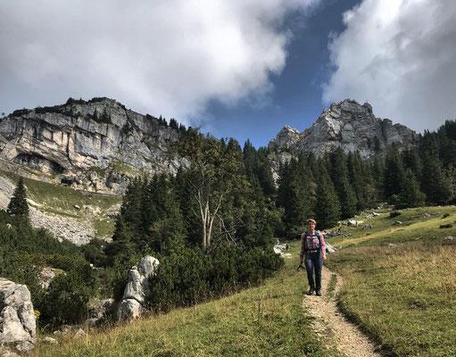 Abstieg Richtung Bayrischzell