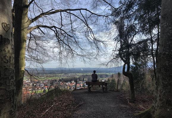 """""""Zur schönen Aussicht"""" überhalb von Bad Feilnbach"""