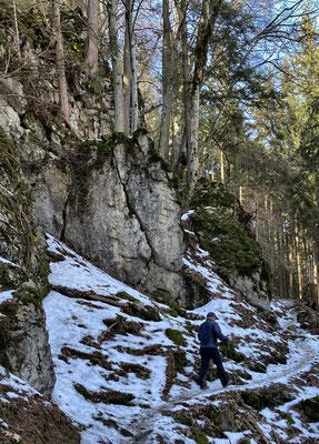 Abstieg vom Großen Riesenkopf