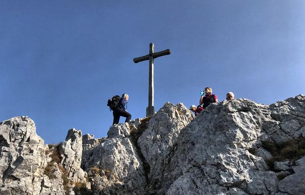 Gipfel der Lacherspitz