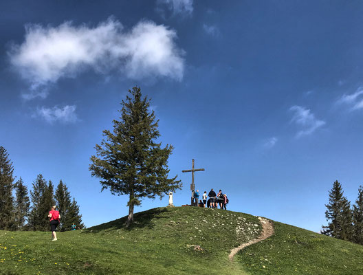 Gipfelkreuz am Farrenpoint