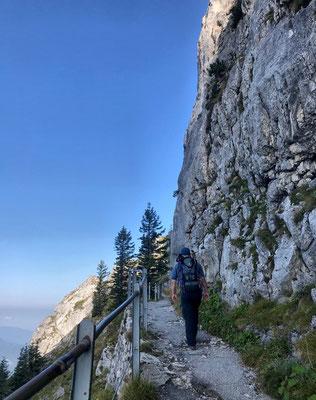Am Wendelstein Gipfelweg