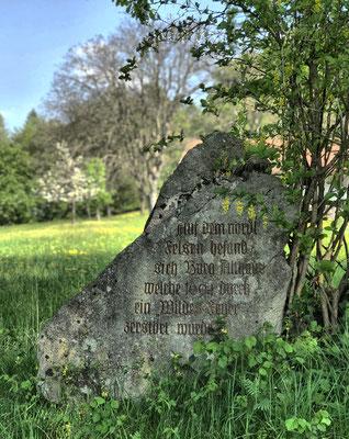 Gedenkstein Burg Althaus
