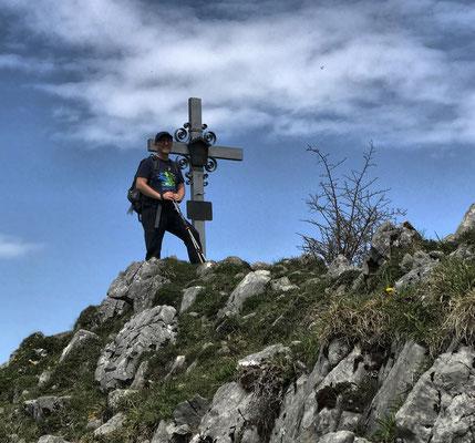 Gipfelkreuz am Schweinsberg