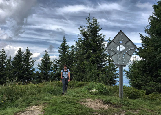 Gipfelkreuz am Karkopf