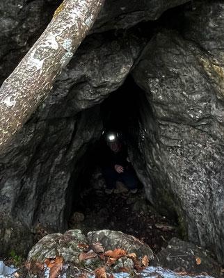 Schlüsselloch-Höhle