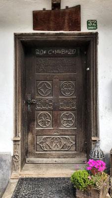 Alte Türe in Litzldorf