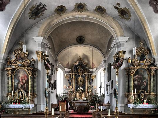Kirche Mariä Empfängnis Neubeuern