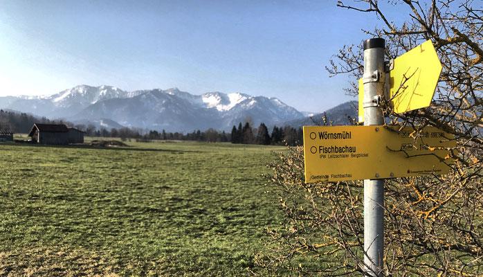 "Auf dem Premiumwanderweg ""Leitzachtaler Bergblicke"""