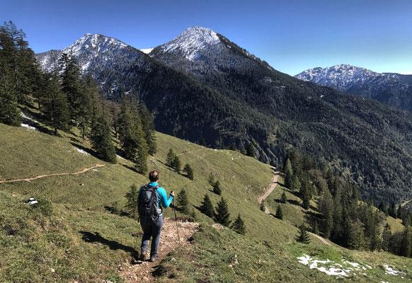 Abstieg zur Neuhütte