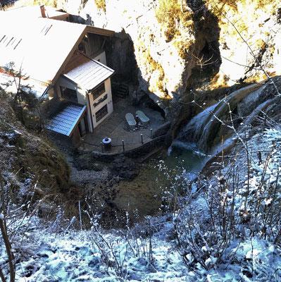Blick auf das Dorfbad Tannermühl