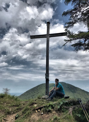 Schrofen Gipfelkreuz