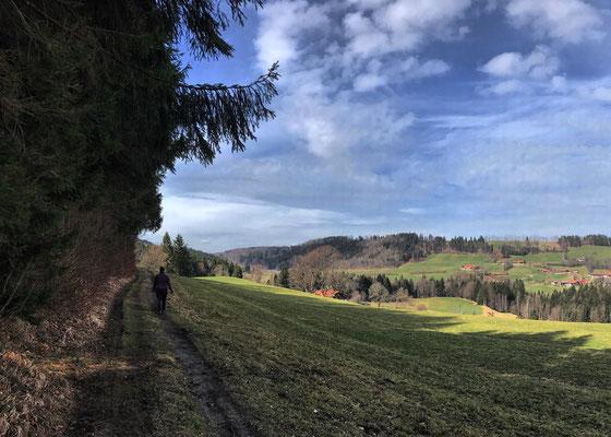 Auf dem Weg nach Weißenbach