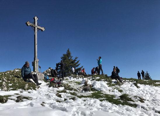 Gipfelkreuz am Seebergkopf