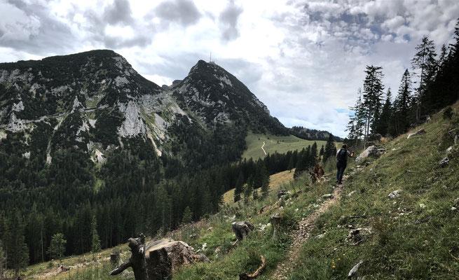 Auf dem Weg zur Reindler-Alm