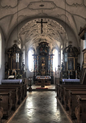 In der Kirche St. Martin Happing