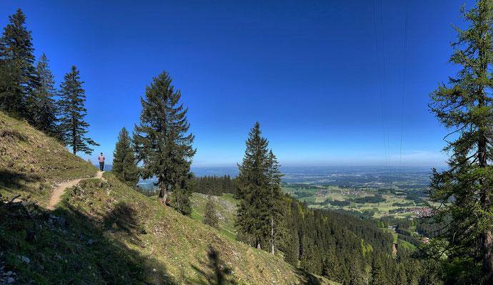Zwischen Riesen-Plateau und Ebersberger Alm
