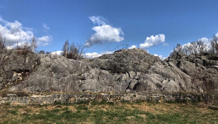 Gletscherschliff bei Fischbach