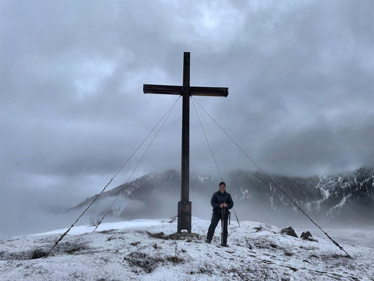 Gipfelkreuz am Schachenberg