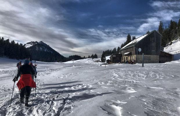 Kurz vor der Riesenhütte