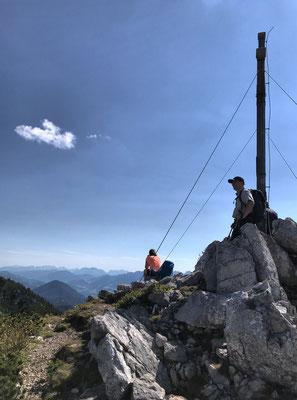 Gipfelkreuz der Kesselwand