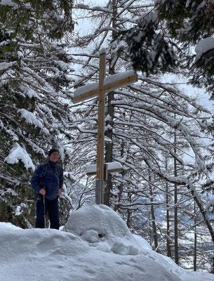 Am Gipfel des Großen Madron