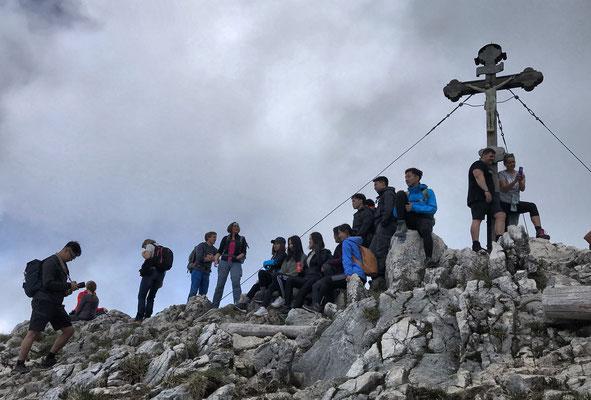 Gipfelkreuz am Breitenstein