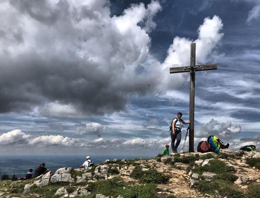 Gipfelkreuz der Hochries